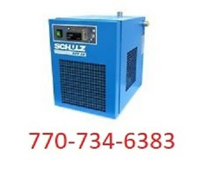 Schulz Refrigerated Air Compressor Dryer - 10 Cfm - Ads10 115 Volts
