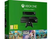 Xbox One 500Gb Console Kinect Bundle With Kinect Sports Rivals, Zoo Tycoon And Dance Central