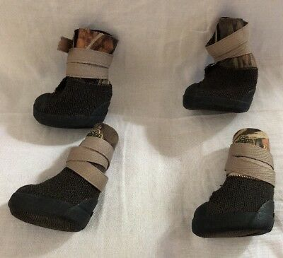 Basspro RedHead Deluxe Made With Kevlar Dog Boots Size 2XL - 4 Inches £