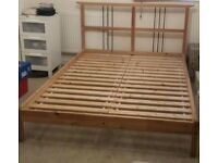 Ikea Dalselv Double Bed Frame Very Good Condition