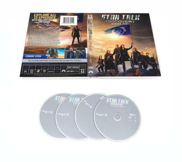 Star Trek Discovery Season 3 ( DVD 4 DISC)Brand New seal Free Shi