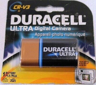 LOT OF 3 DURACELL ULTRA DIGITAL PHOTO V3 CR-V3  BATTERY CAMERA  V3 Digital Camera Battery