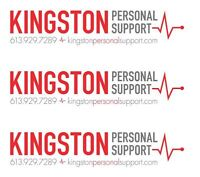 Kingston Personal Support