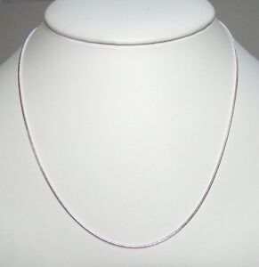 925-Sterling-Silver-Snake-Chain-Necklace-16-18-20-24-30-inch