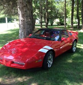 1986 Corvette with lots of mods 427 Stroker