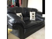 Sofa and unworn leather jacket( but once!)