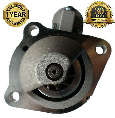 New Starter Fit Perkins Engine 1103d-33 3cyl 3.3l Diesel 2004-2010 2873k405