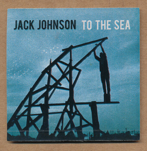 Jack Johnson To the Sea RARE promo sticker