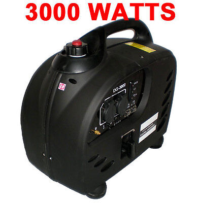Purewave Digital Dg-3000 Watt Gas Generator Inverter Quiet Portable