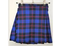 Rangers men's 8 yards, wool kilt large