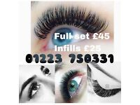 Eyelash extensions Cambridge Cambridgeshire eyelashes nails