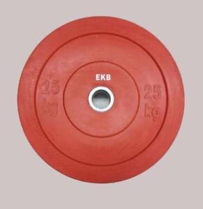 150kg (330lbs) Color bumper weight training plates.