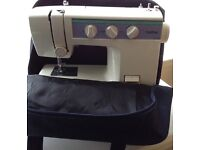 Brother Sewing Machine with Carry Bag....excellent condition....