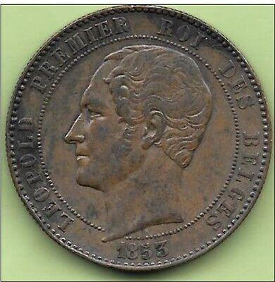 10 Centimes Cu Médailles 21 22 Aout 1853