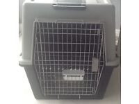 LARGE FERPLAST CRATE FOR DOG ETC.