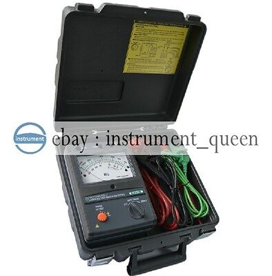 Kyoritsu 3123a High Voltage Insulation Tester 10000v 10kv New