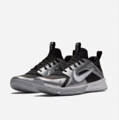 5f27551637de NIKE Alpha Huarache Lacrosse Low Turf Shoes ~ US 10M ~ NEW! 923435-015