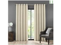 Faux Suede DUNELM MILL Curtains (1set)