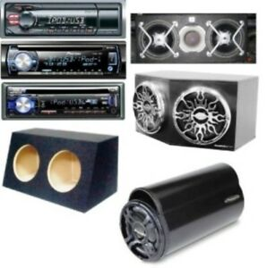 Dual+Single Sub Boxes/Complete Sub-Systems/Car Stereos