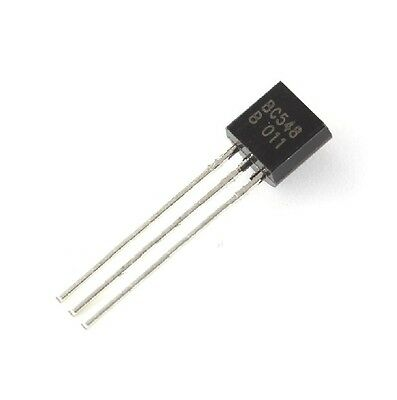 50pcs Bc548 Bc548b To-92 Transistor Pnp 30v 100ma To-92 Fairchild New
