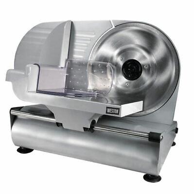 Food Slicer 9 Inch Blade Duty Meat Veggie Deli Cut Electric Machine Mandoline