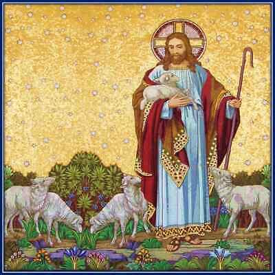 30 Custom Good Shepherd Jesus Personalized Address Labels