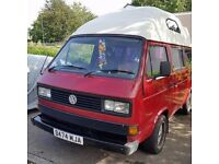 vw campervan with mot