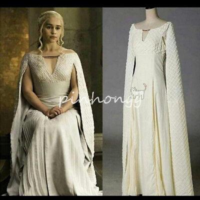 Game of Thrones Damenkostüme Amerikanisch cosplay Daenerys Targaryen -
