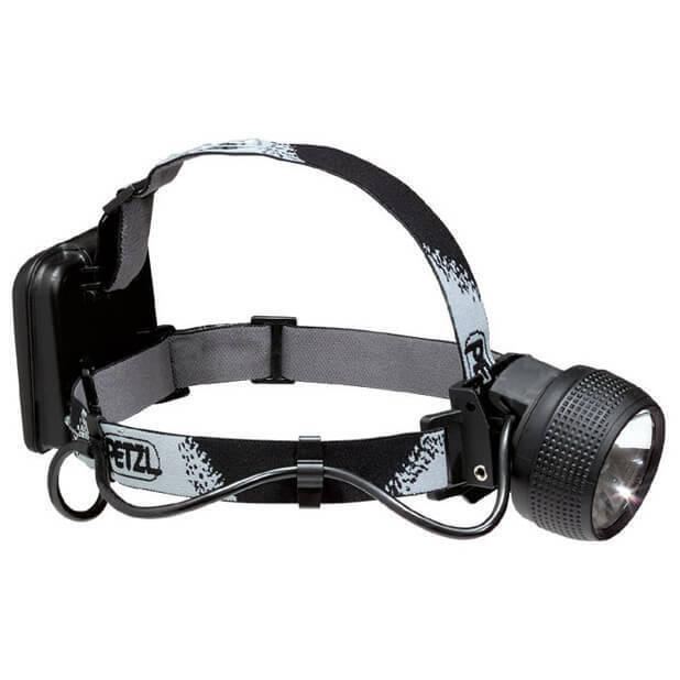 PETZL Kopflampe SET E 22 ZOOM, 2x Accu, Ladenetzteil - UVP 189,- €