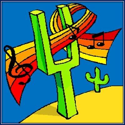 30 Custom Desert Music Art Personalized Address Labels