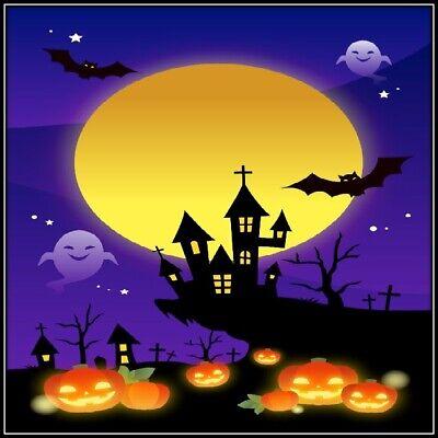 30 Custom Halloween Personalized Address Labels