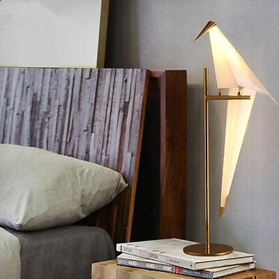 Led Origami Crane Bird Table Lamp Living Room Bedroom Bedside Desk Reading Light