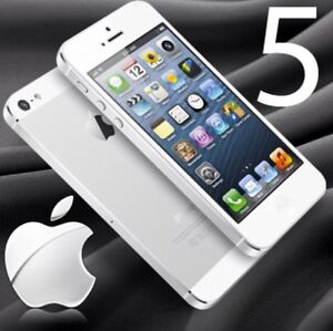 iPhone S5 blanc et or
