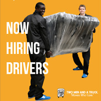 NOW Hiring Drivers (Movers)