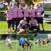 Join a Co-ed, For-Fun, Adult Flag Football League this Fall!