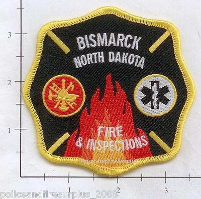 North Dakota - Bismarck ND Fire & Inspections Fire Patch