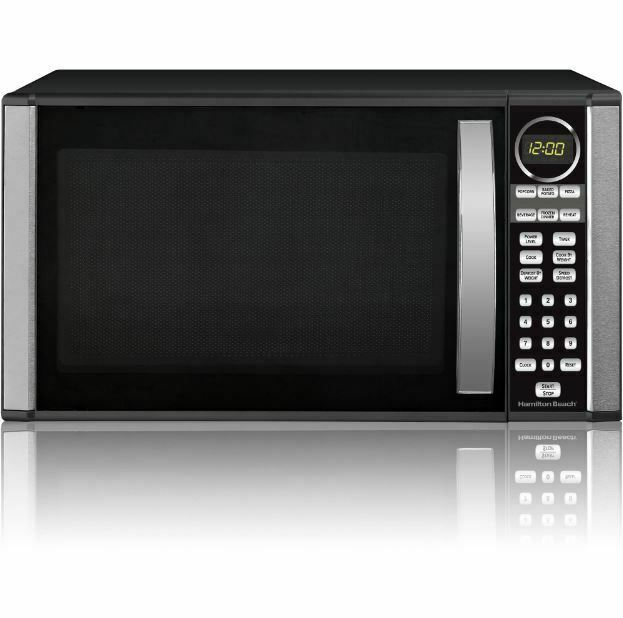 Microwave Oven High Power Countertop Stainless Steel Big Lar