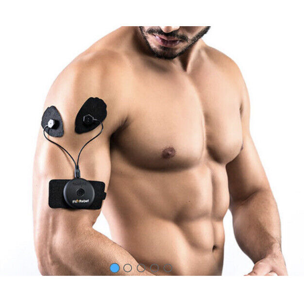 Fit Relief Fitness & Recovery Wearable Smart Device TENS Unit Palm NG Pain