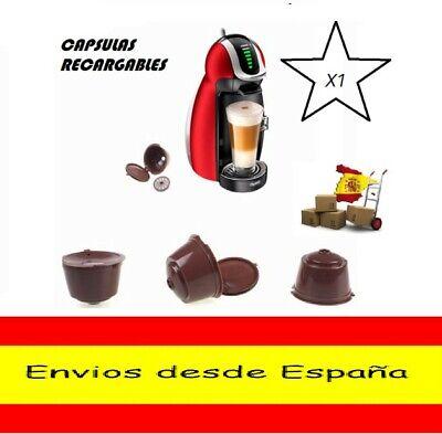 CAPSULAS RECARGABLE REUTILIZABLE RELLENABLE PARA CAFETERA DOLCE GUSTO