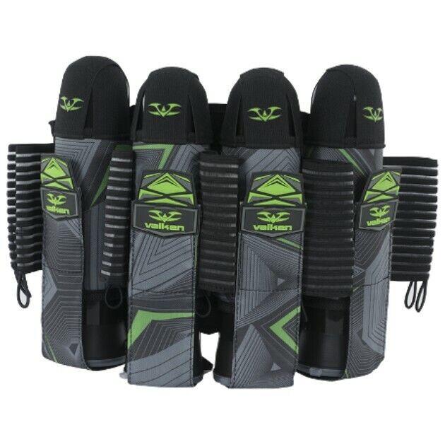 Valken 4+7 Redemption Harness pod pack Lime Green gray/black