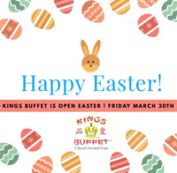 We are open for Easter!