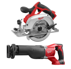 BRAND NEW! Milwaukee M18 Reciprocating Saw AND Circular Saw