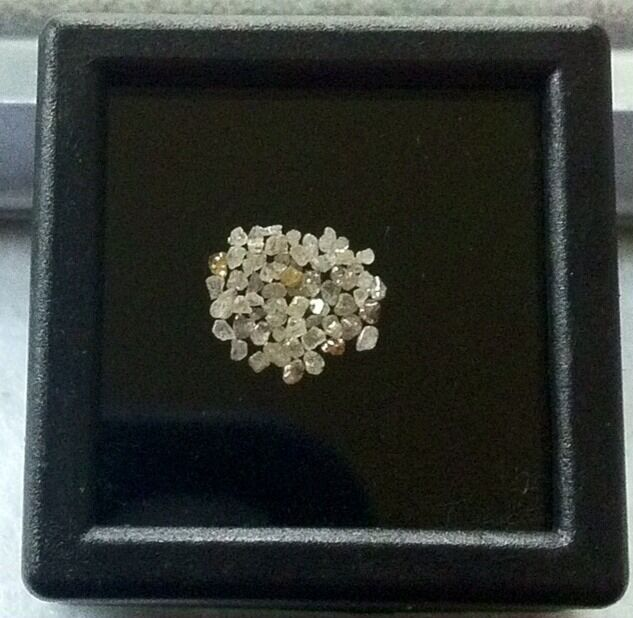 RAW NATURAL FANCY COLOR MIXED DIAMOND LOT (50) LOOSE  GENUINE!!!  1/2CT.  L55