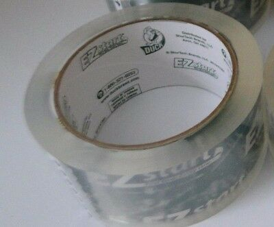 1 Roll Duck Tape Ez Start 1.88 X 54 Total Yards Packaging Shipping Clear