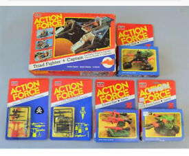 WANTED 🇬🇧 ACTION FORCE GI JOE OLD TOYS FIGURES VEHICLES 1980s Toys