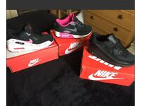 Brand New in box size 4 Nike AirMax 90 trainers