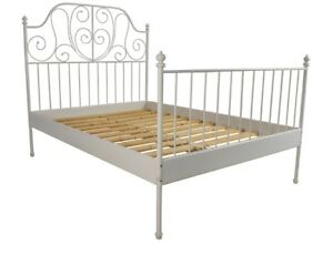 IKEA Princess white bed frame- Double