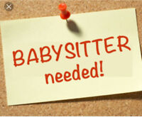 Looking for casual part time babysitter!
