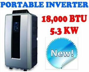 NEW 5.3kW (18,000 BTU) PORTABLE INVERTER AIR CONDITIONER Caulfield Glen Eira Area Preview