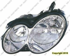 Head Light Driver Side Halogen Clk Models High Quality Mercedes C-Class 2003-2007